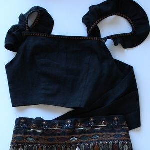 Free People Black Aztec set